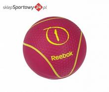 Reebok FITNESS Piłki LEKARSKA 1KG MAGENTA, RAB-40121MG /