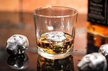 Gadget Master Metalowe kostki lodu do whisky i drinków wielokrotnego użytku CZAS