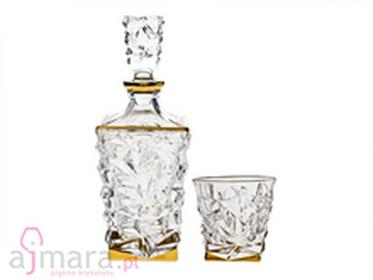 Bohemia Zestaw do whisky Glacier Gold Jihlava