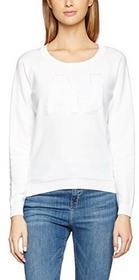 Armani Jeans Bluza panie, kolor: biały, rozmiar: 38 B01LYHYIOD