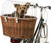 Kosz rowerowy z ochronną kratką - Ok. 53 x 35 x 43 cm