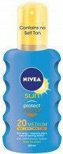 Nivea Sun Protect & Bronze Spray do opalania SPF20+ 200ml