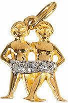 Tyfanit Złoty znak zodiaku - bliźnięta ZZ3