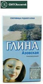 FitocosmeticGlinka kosmetyczna niebieska, azowska 100g