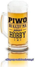 Kufel z nadrukiem Piwo Hobby śmieszny prezent 0690