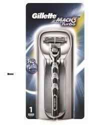 Gillette Mach 3 Turbo Rasierer M) maszynka do golenia