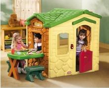 Little Tikes domek Piknikowy z Patio z Magicznym Dzwonkiem Natural LT172298E13