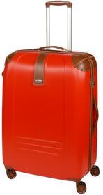 Dielle Walizka duża na 4 kółkach 155 155-70 rosso Zamek szyfrowy TSA 4 kółka - obrotowe 360°