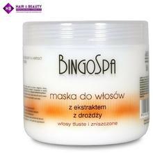 BingoSpa Maska do wosów z eekstraktem z drożdży 500g