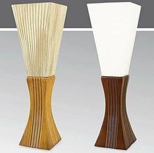 Kaja Lampa stołowa drewniana ze Ĺ>ciemniaczem K-MT6899
