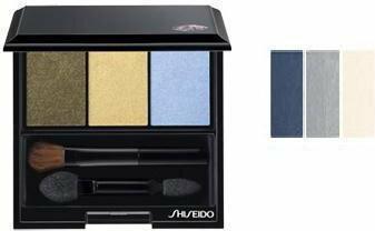 Shiseido Eyes Luminizing Satin Trio GY 901 Snow Sha