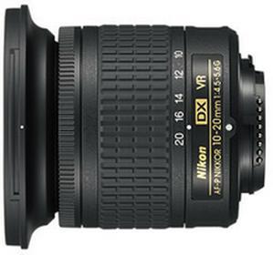 NikonAF-P DX 10-20mm f/4,5-5,6G VR