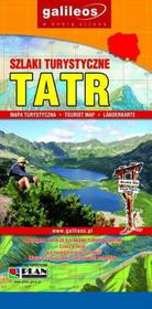 Szlaki turystyczne Tatr mapa Plan
