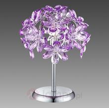Globo Lighting Piękna lampa stołowa PURPLE, fioletowa