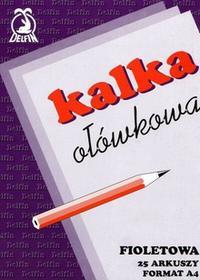 Delfin Kalka ołówkowa A4 25 arkusz