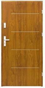 Splendoor Drzwi zewnętrzne  Elegance 90 prawe złoty dąb