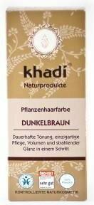 Khadi Henna naturalna ciemny brąz