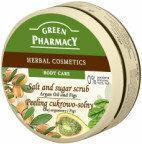 Green Pharmacy ELFA PHARM cukrowo - solny peeling do ciała olej arganowy i figi