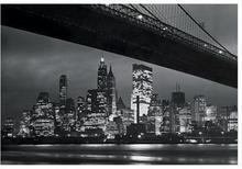 New York At Night - reprodukcja
