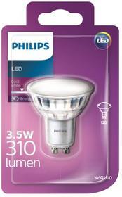 Philips Żarówka LED GU10 3 5 W 310 lm 120° przezroczysta barwa zimna