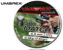 Umarex Śrut 4,5 mm MATCH płaski 500szt. 4.1967.1