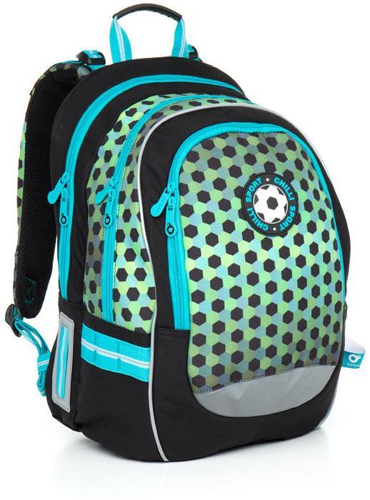 f73899eb17014 Topgal Plecak szkolny CHI 800 E - Green – ceny, dane techniczne ...