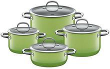 Silit Passion Green - Zestaw 4 garnków 21.0929.9073