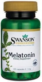 SWANSON , USA Melatonina 1mg 120 kaps.