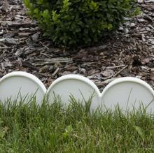 Prosperplast Palisada ogrodowa obrzeże 10m x 0,9cm Garden Line Biały IKRA IIKRAB