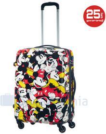 Samsonite AT by Średnia walizka AT Disney Legends Mickey Comics - multikolor
