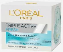 Loreal Triple Active Fresh Żel-Krem supernawilżający do skóry normalnej i mieszanej 50ml