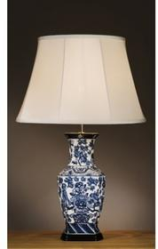 Luis Collection Blue Hexagon Vase LUI/BLUE HEX (82BHV/LB38) Lampa stołowa