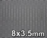 Opinie o GJK Styling Siatka tuningowa Czarna 8mm x 3,5mm 100cm x 30cm BL 8X3 30X100