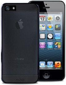 PURO Mirror Cover Etui iPhone 5 (czarny) IPC5MIRRORBLK.