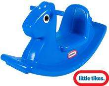 Little Tikes Koń na biegunach niebieski 4279