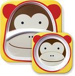 Skip Hop Zestaw jedzeniowy Zoo Małpa Zwrot w 30 dni FREE. 252202