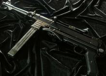 Denix LEGENDARNY MP 40 PARABELLUM Pistolet MASZYNOWY SCHMEISSER
