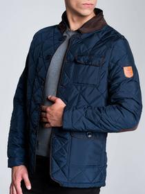 Ombre Clothing KURTKA MAXIMO - GRANATOWY