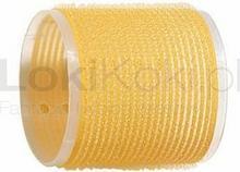 Comair Wałki na rzepy 66 mm żółte 6 szt.