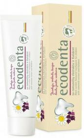 Ecodenta Pasta Do Zębów Dla Dzieci O smaku czarnej porzeczki Z ekstrakrem rumiankowym Bioaktywnym wapniem 75ml