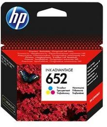 HP 652 Trójkolorowy