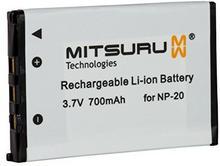 Mitsuru 3WH 3.6V Oryginalny akumulator do Casio Exilim EX-Z65EX-Z7EX-Z70EX-Z75. Zastępuje: NP-20 20 NP