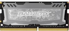 Crucial Pamięć do notebooków DDR4 Ballistix Sport4GB, 2400MHz, CL16 BLS4G4S240F