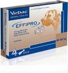 Virbac Effipro XL- preparat przeciwko pchłom i kleszczom dla psów 40-60kg 4x4.02