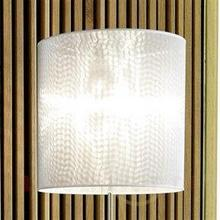 Designerska lampa stojąca z sitkiem