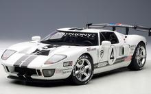 Autoart Ford GT #4 LM Spec II Race Car 80515