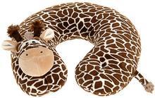 Emako Poduszka podróżna dla dziecka rogalik z motywem zwierzątka 8719202036664-żyrafa