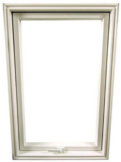 Dobroplast Okno dachowe SKYLIGHT PREMIUM PCV 78 cm x 98 cm białe OKDPOSP7/9BR