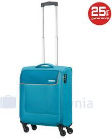 Samsonite AT by Mała kabinowa walizka AT FUNSHINE 75507 Turkusowa - turkusowy