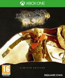 Final Fantasy Type-0 HD Steelbook Xbox One